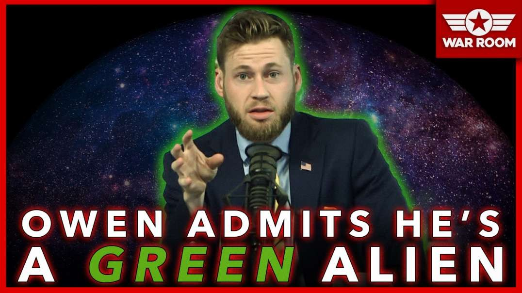 Owen Admits He's A Green Alien From The Moon