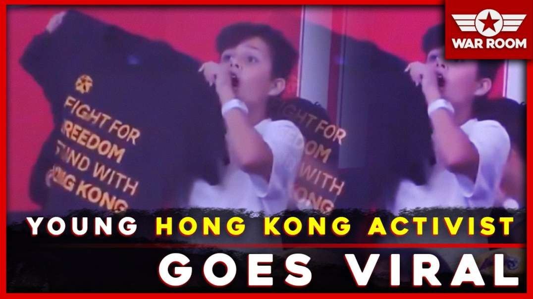 12 Year Old Free Hong Kong Activist Shares Secret To Going Viral
