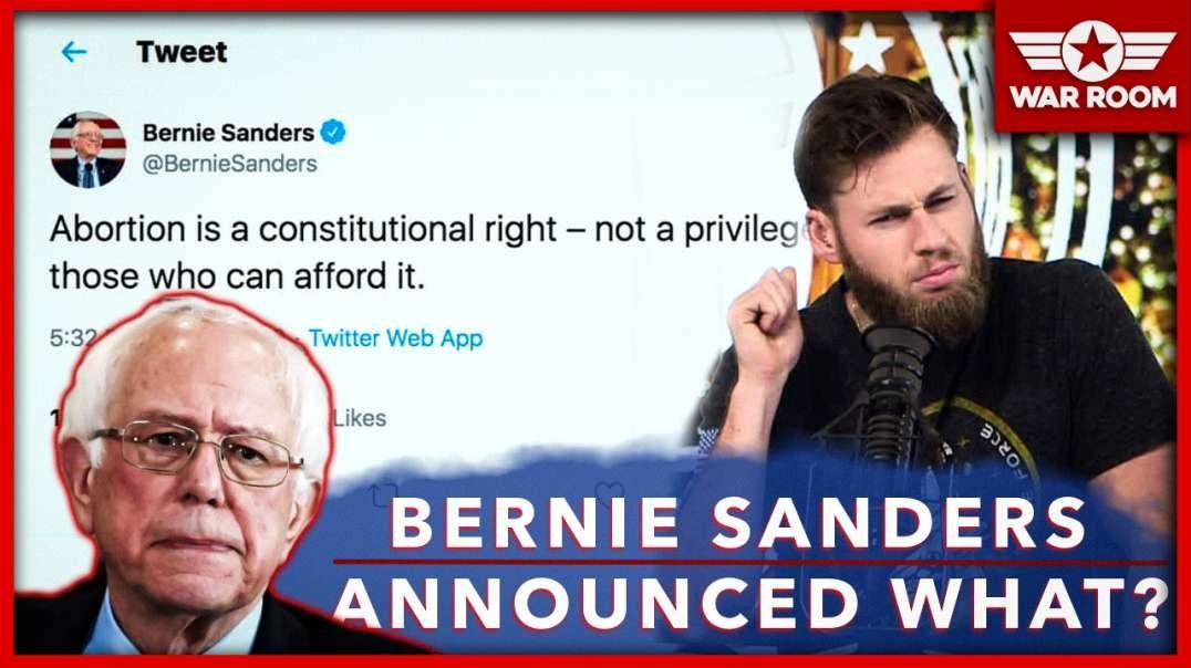 Bernie Sanders Announces Plan For Communism To Work- Kill Your Kids!