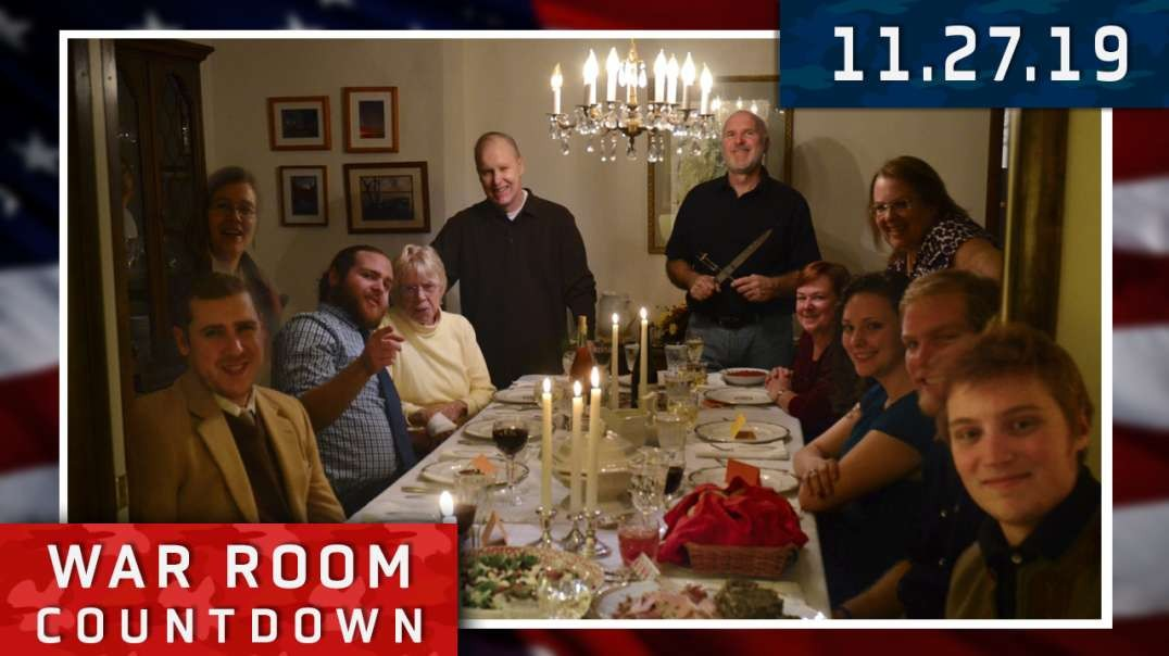 Countdown: Will Polarized Politics Ruin Your Family's Thanksgiving Dinner?