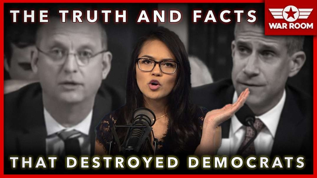 Democrats Destroyed In Impeachment Hearing By Truth And Facts