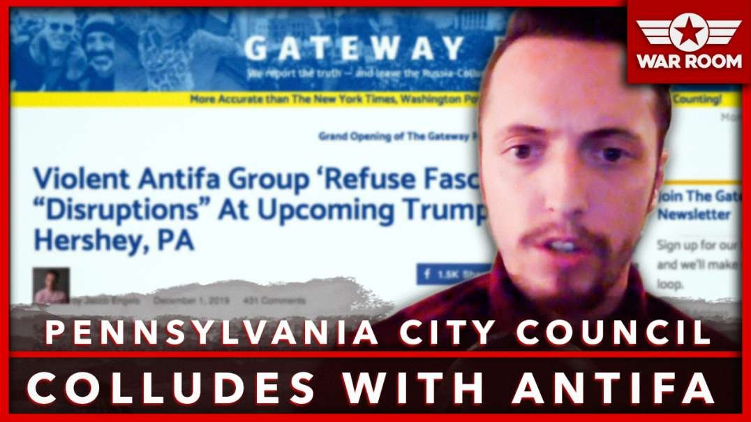 Pennsylvania City Council Colludes With ANTIFA To Start Riots At Upcoming Trump Rally
