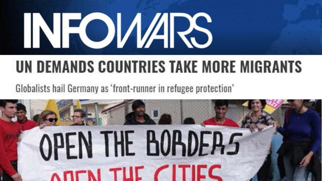 Learn The Migrant Replacement Plan To Bring The West To Its Knees