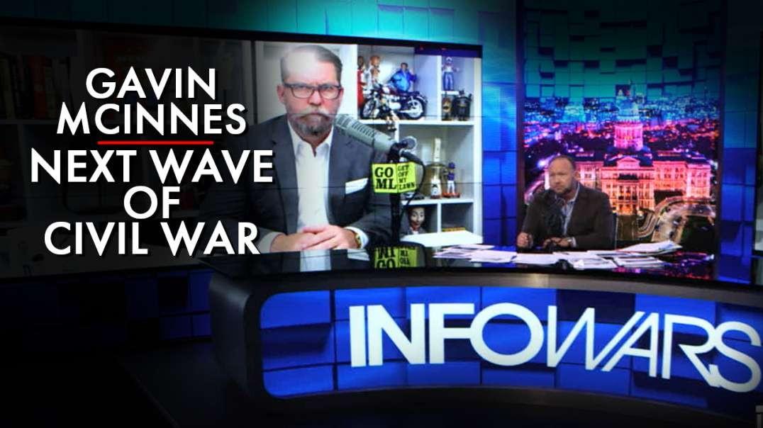 Gavin McInnes Warns, The Civil War's Next Wave Is Here