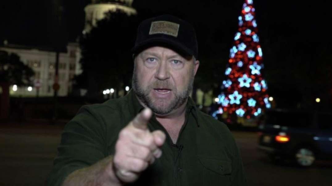 Alex Jones Exposes The War On Christmas!