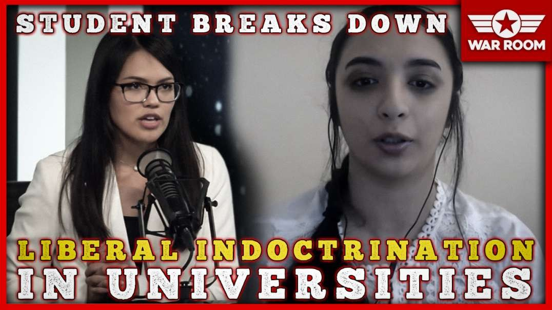 Student Breaks Down The Reasons Behind Liberal Indoctrination In Schools