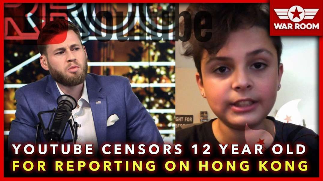 Youtube Censors 12 Year Old Boy For Reporting On Hong Kong