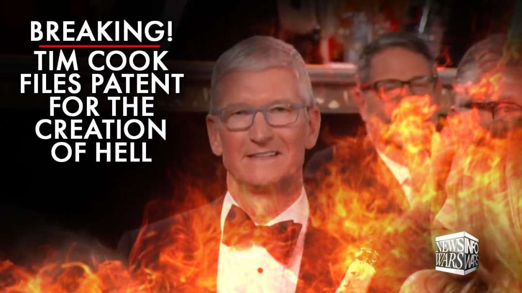 Breaking! Apple's Tim Cook Files Patent For The Creation Of Hell
