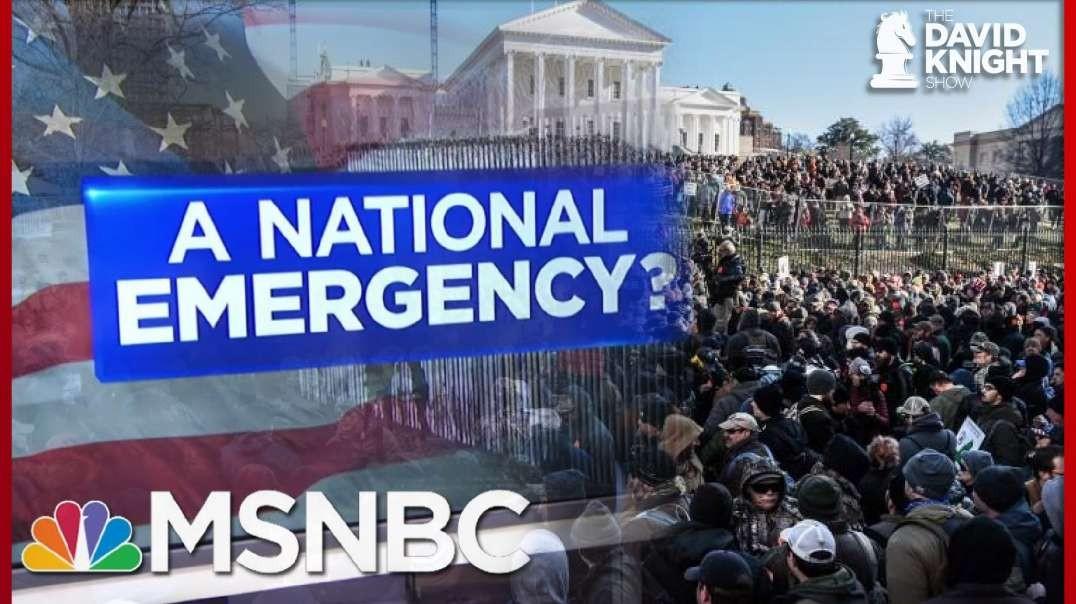 Exposed MSNBC Pushes Propaganda To Stir Up Violence At Virgina 2A Rally