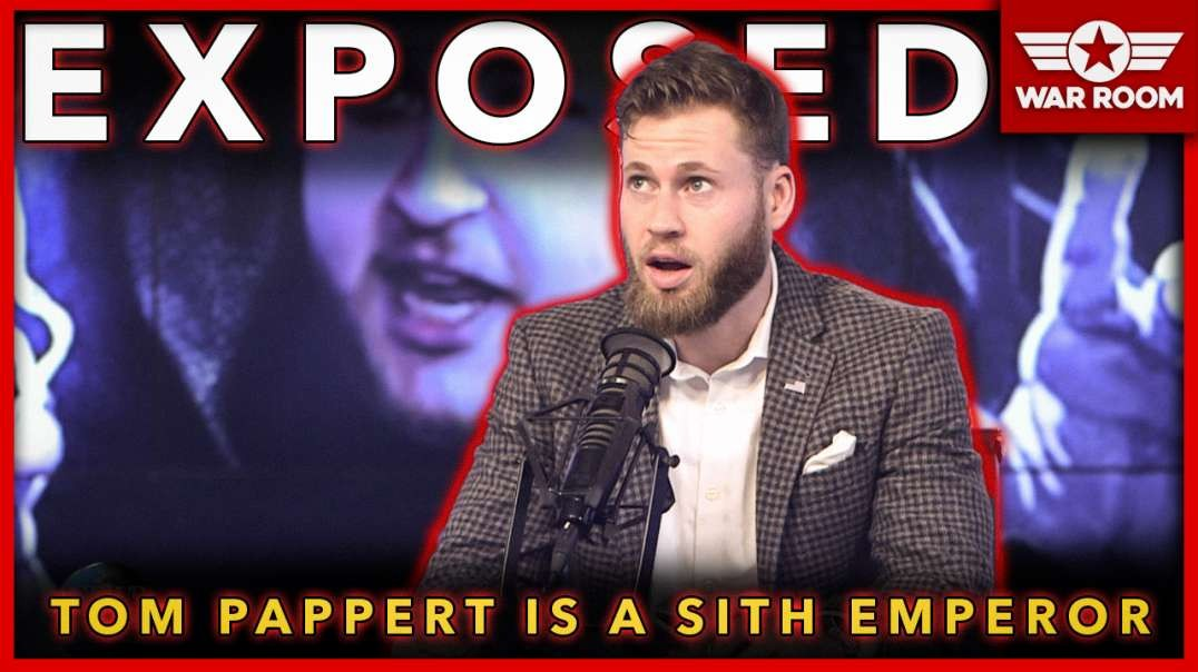 Exposed: Tom Pappert From National File Is A Sith Emperor