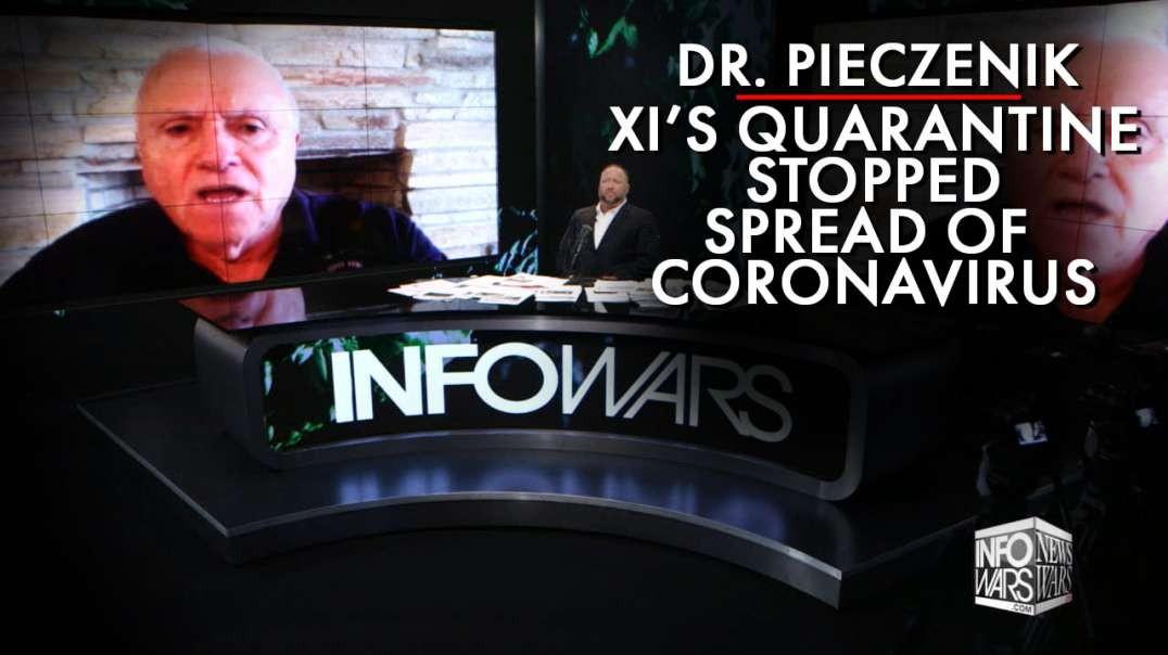 Steve Pieczenik: Xi's Quarantine Stopped Coronavirus From Spreading All Over China