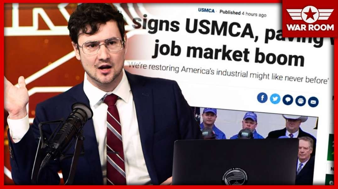 Trump Signs Us USMCA But Doesn't Invite The Democrats