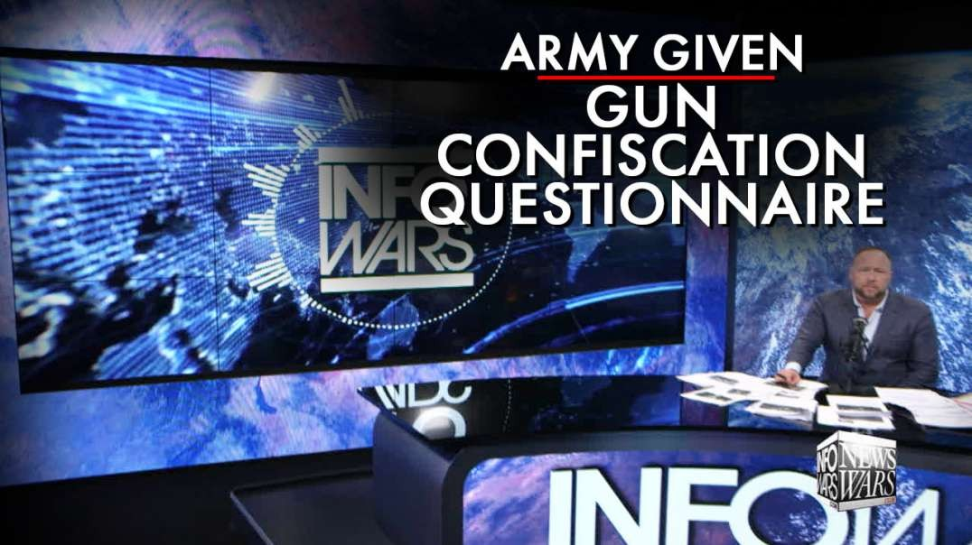 Army Given Gun Confiscation Questionnaire