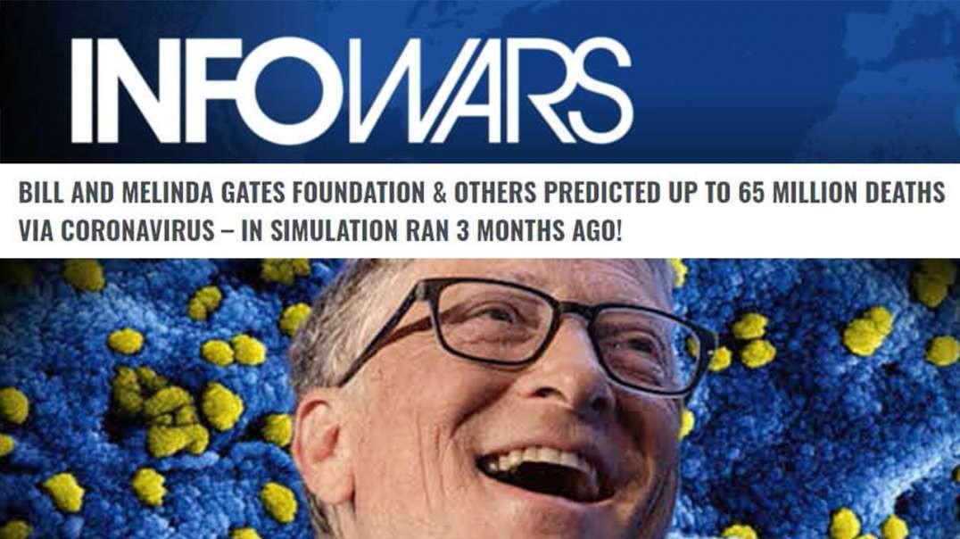 SHOCK VIDEO! Bill Gates Admits To Depopulation Plan Amid Coronavirus Outbreak