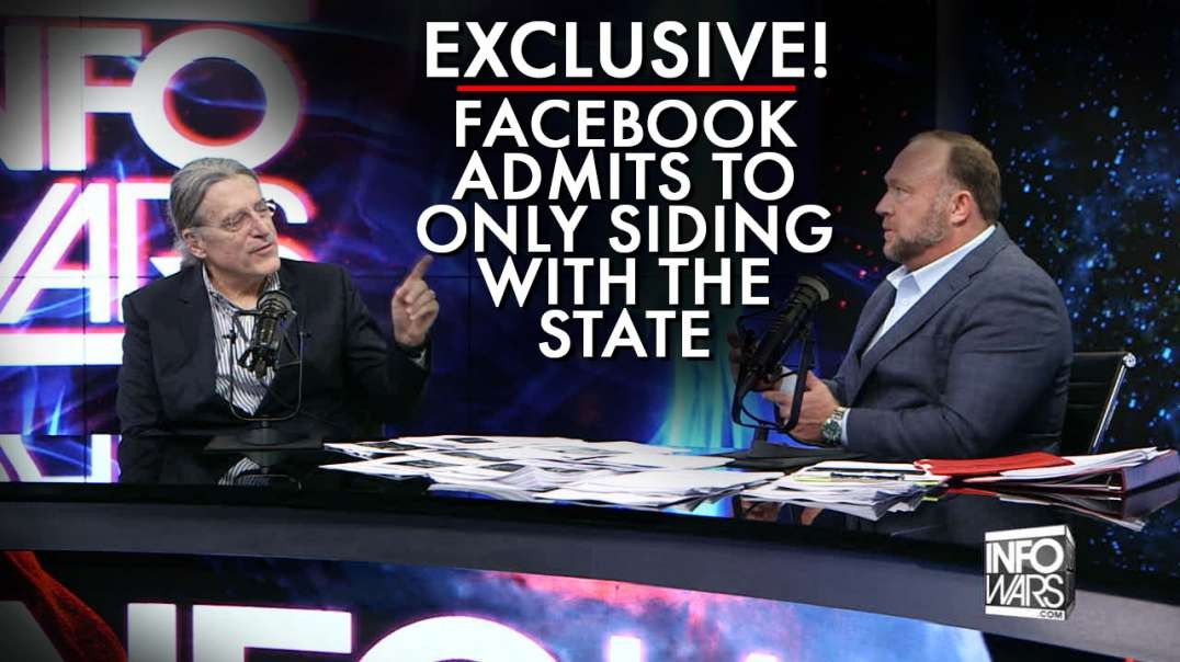 Exclusive! Facebook Admits To Only Siding With The State