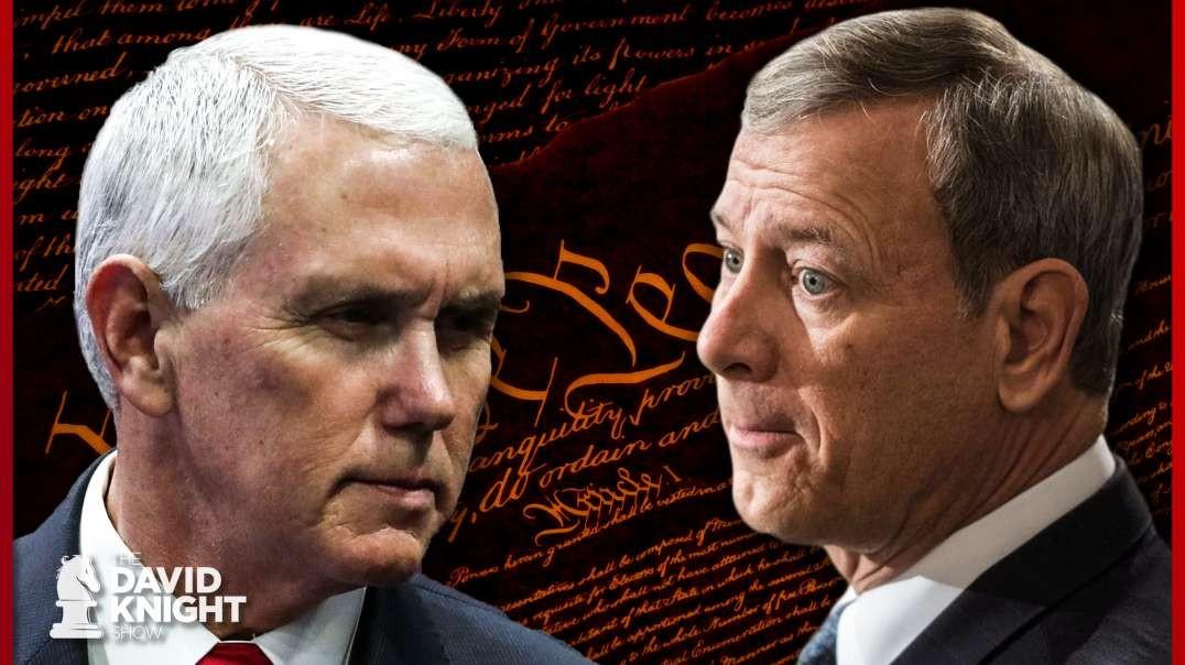 Constitution: VP Pence, NOT Roberts Has Deciding Vote in Senate Tie