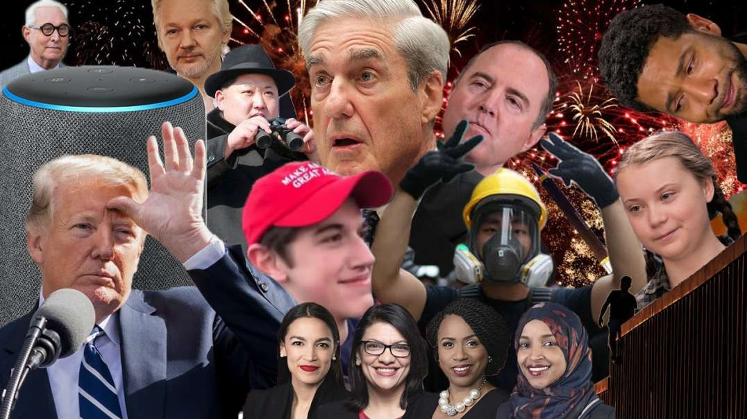 The Year The Mask Came Off - Infowars 2019 Recap - Part 1
