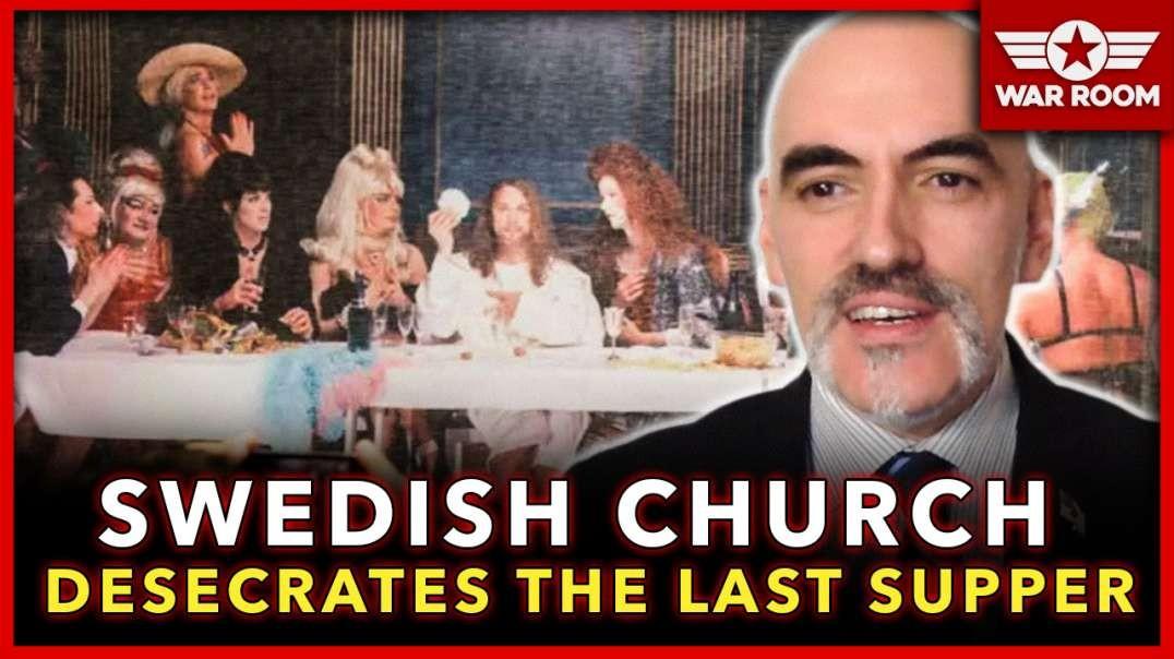 Leo Zagami Predicts The Future Again! Swedish Church Desecrates The Last Supper