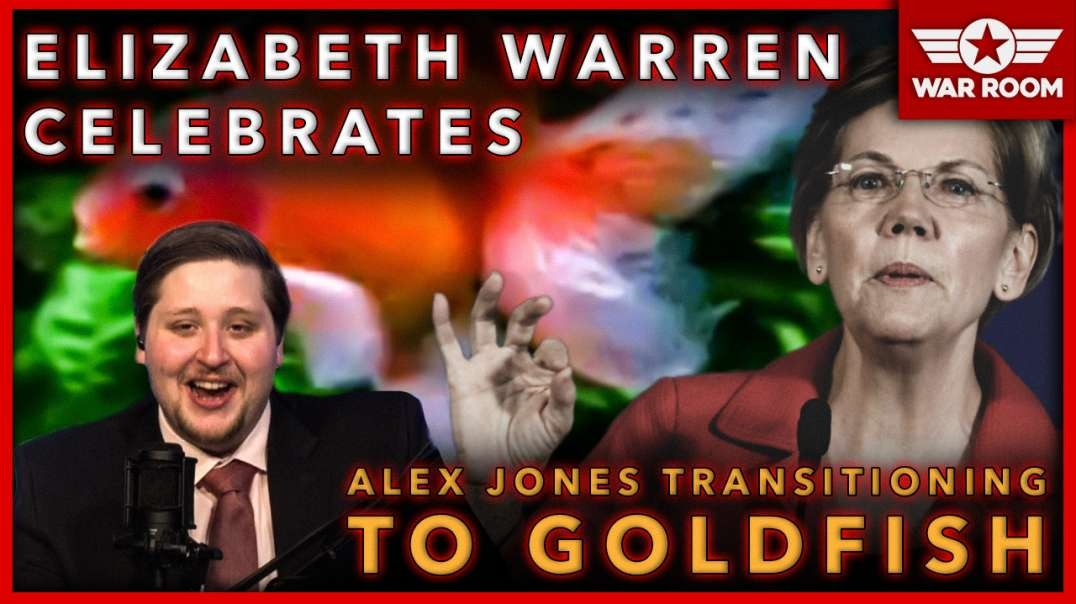 Facebook/Elizabeth Warren Celebrate Alex Jones Transitioning To Goldfish