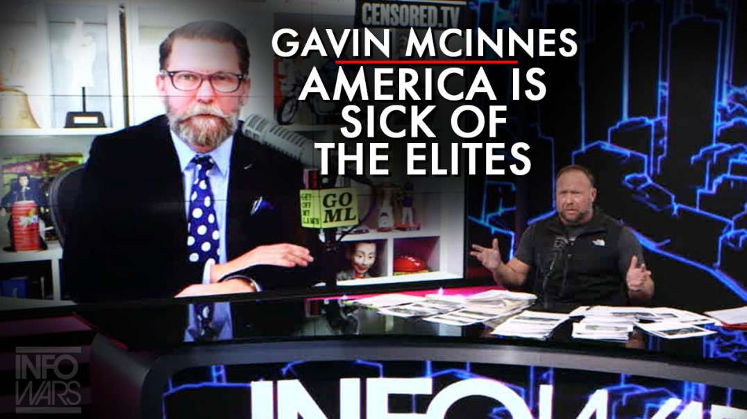 Gavin McInnes: The Vast Majority Of America Is Sick Of The Elites