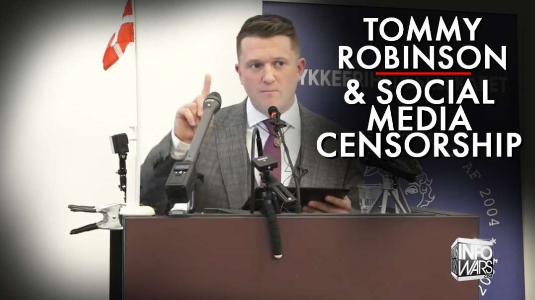 Tommy Robinson And Social Media Censorship
