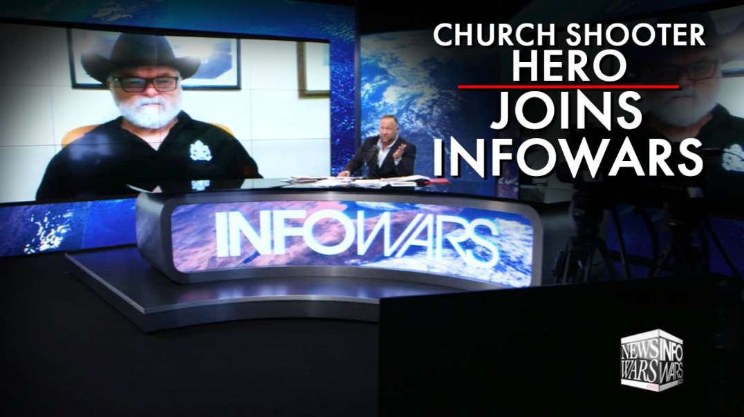 Church Shooting Hero Joins Infowars