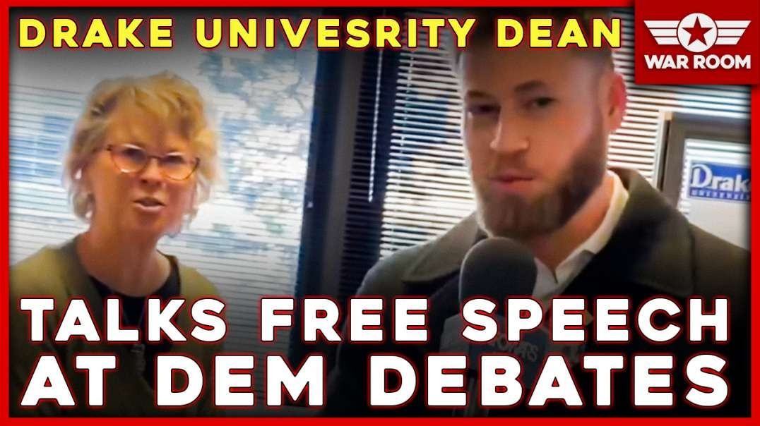 Drake University Dean Talks Free Speech At Democrat Debates