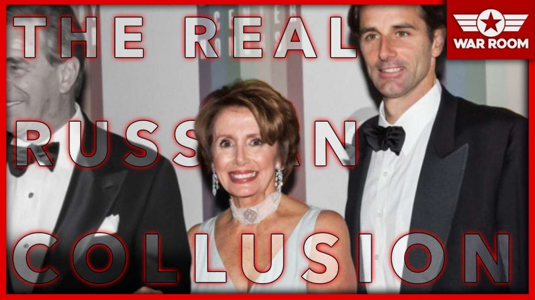Breaking: Real Russian Collusion Discovered; Pelosi Jr. Uses Russians To Lobby U.S. Politicians