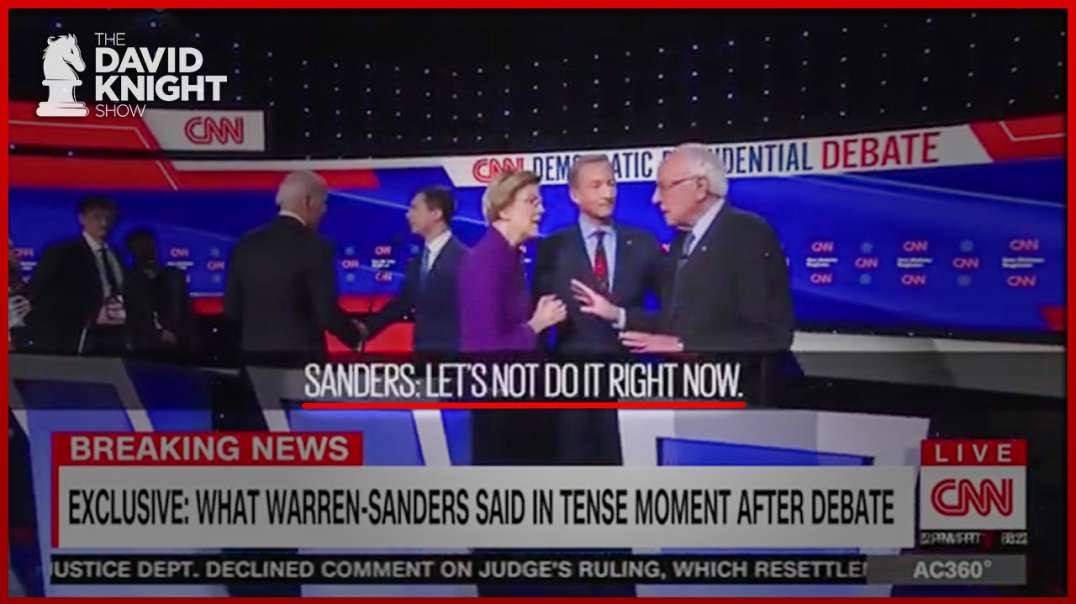 CNN & Warren Jump the Shark & Start Civil War on the Left