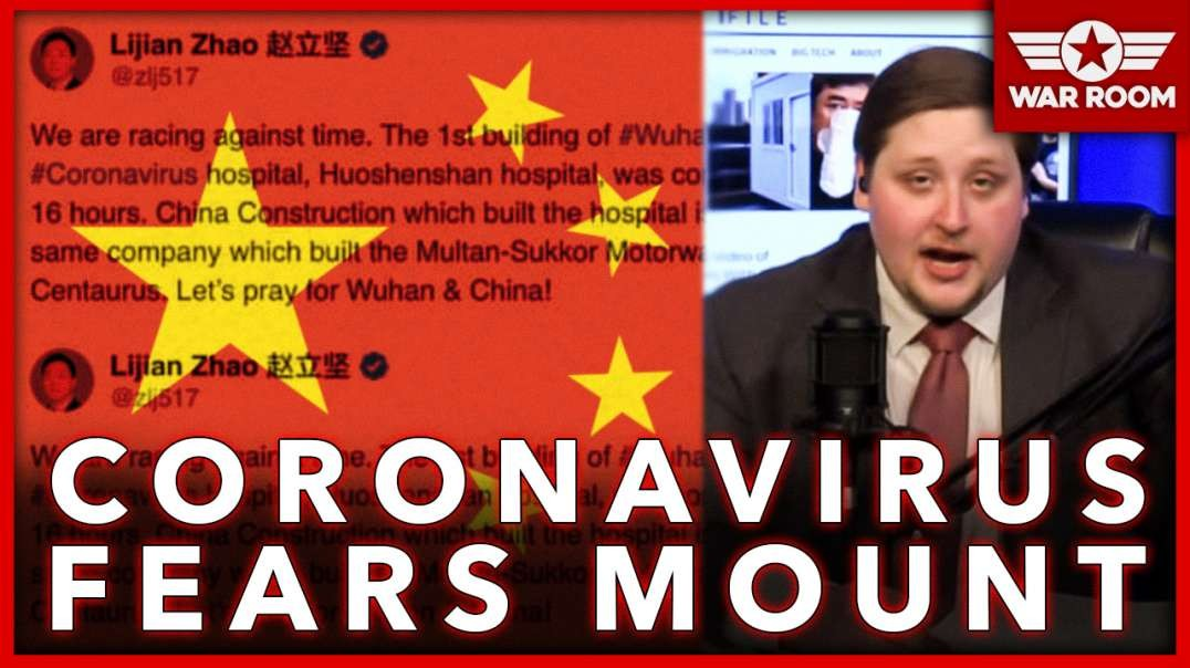 China Puts Propaganda In Overdrive As Coronavirus Fears Mount