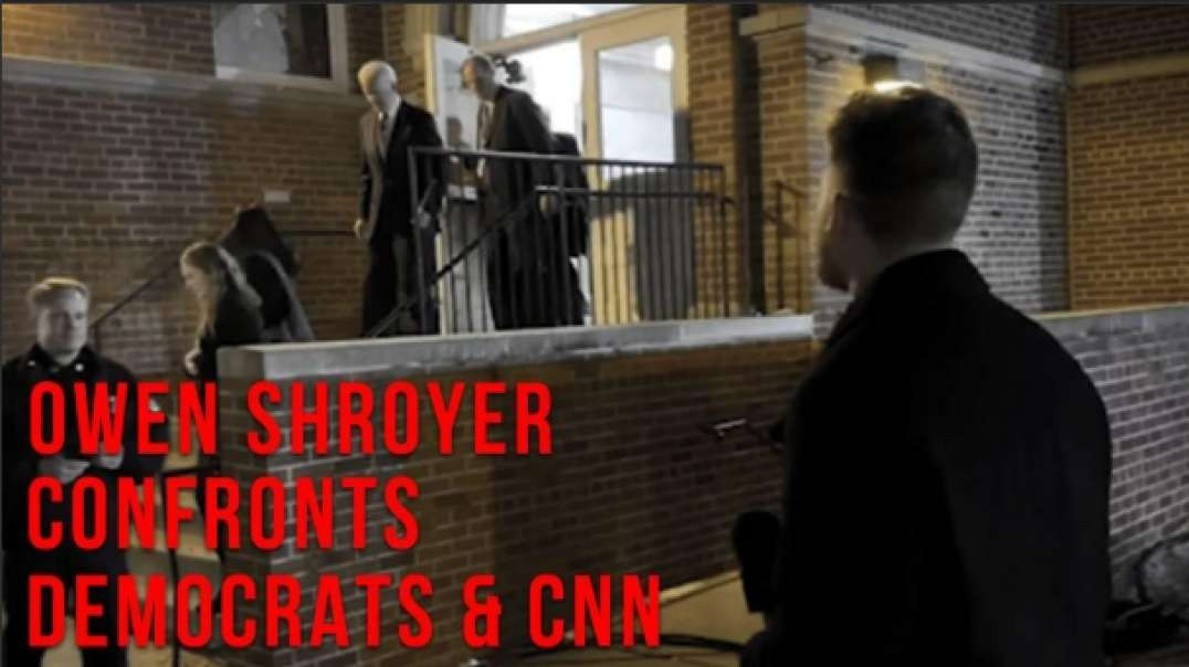 Owen Shroyer Confronts Democrat Candidates And CNN Hosts About Bombshell Project Veritas Video