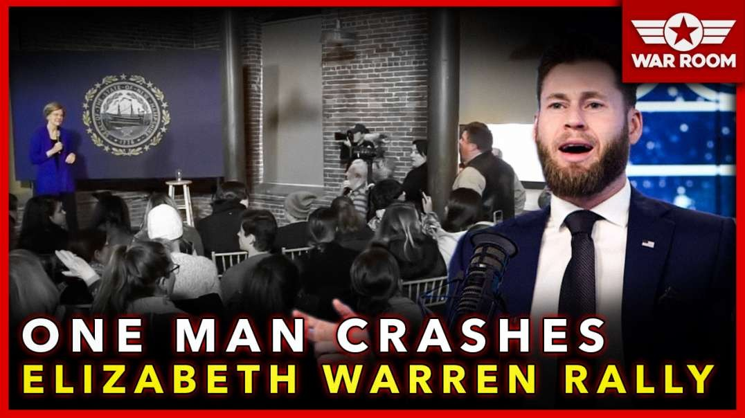 One Man Crashes Elizabeth Warren Rally That Had Than 50 Attendees