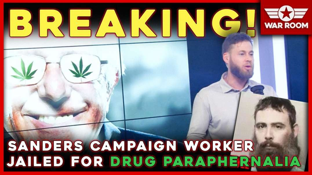 BREAKING: Sanders Campaign Worker Kyle Jurek In Jail For Drug Paraphernalia