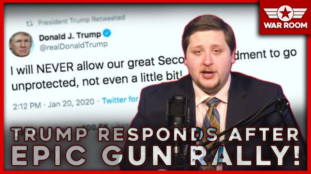 Trump Responds After Most Successful Gun Rally In History