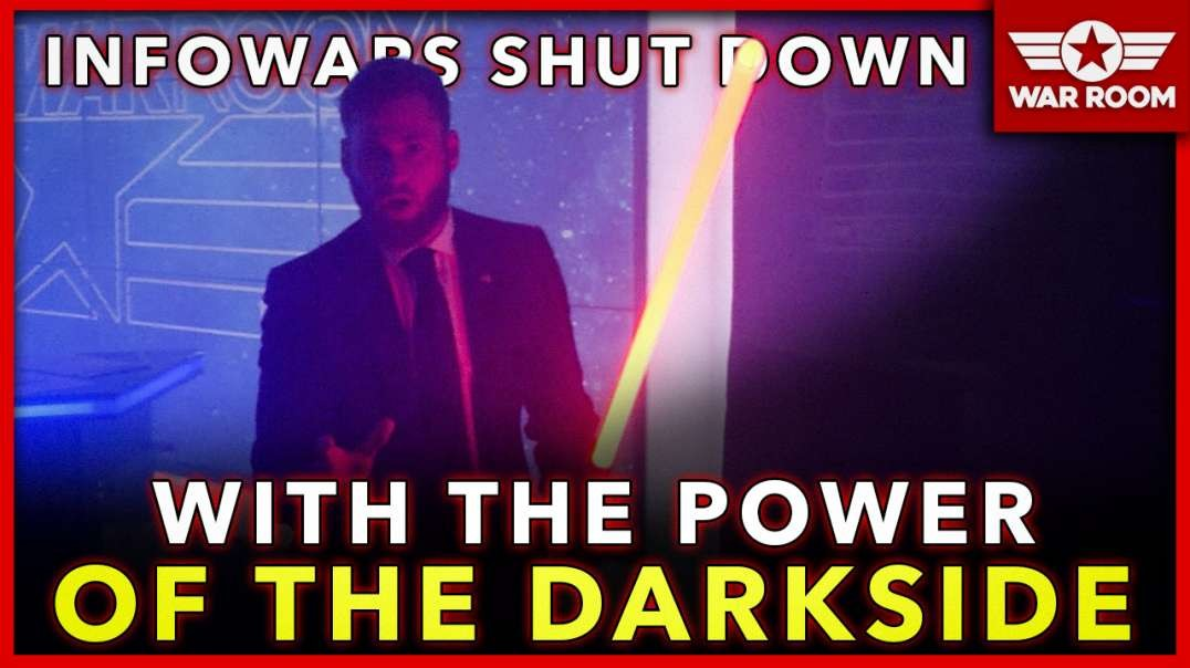 Darth Shroyer Shuts Down Infowars With The Power Of The Dark Side