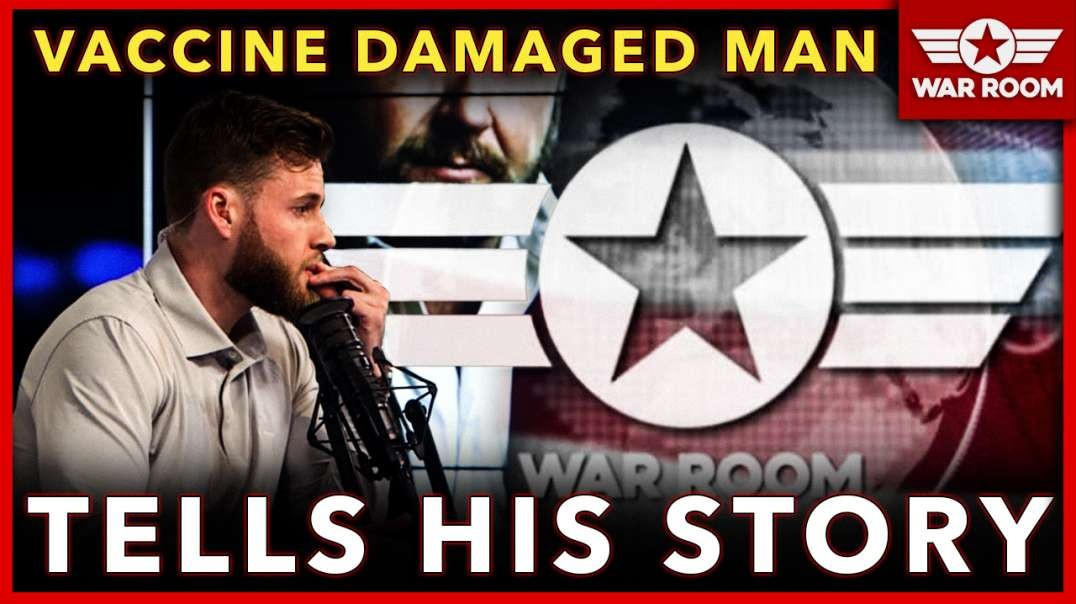 Vaccine Damaged Man Tells His Story On Infowars!