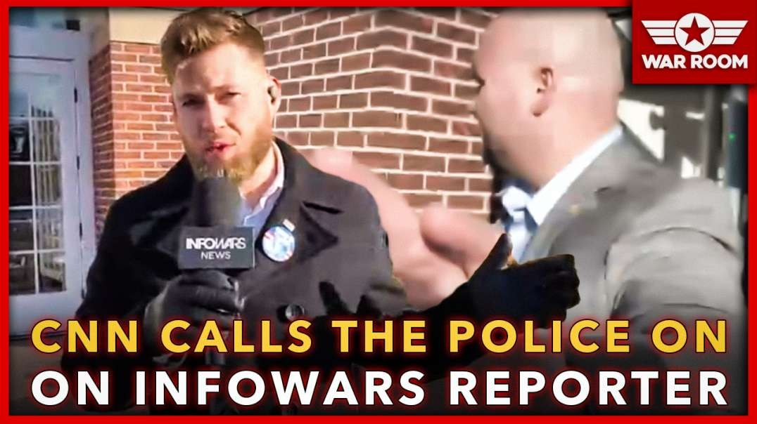 CNN Calls The Police On Infowars