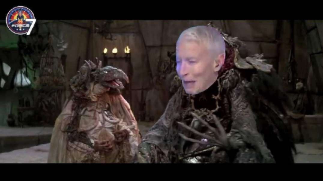 Hollywood Releases Clip Of Anderson Cooper Green Screen Test Footage For Dark Crystal