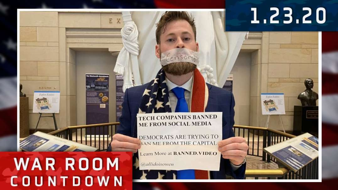 Countdown: Owen Shroyer Arrested For Silent Protest
