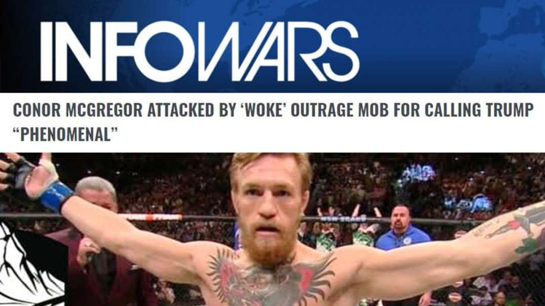 Conor Mcgregor Attacked By Woke Outrage Mob For Supporting Donald Trump