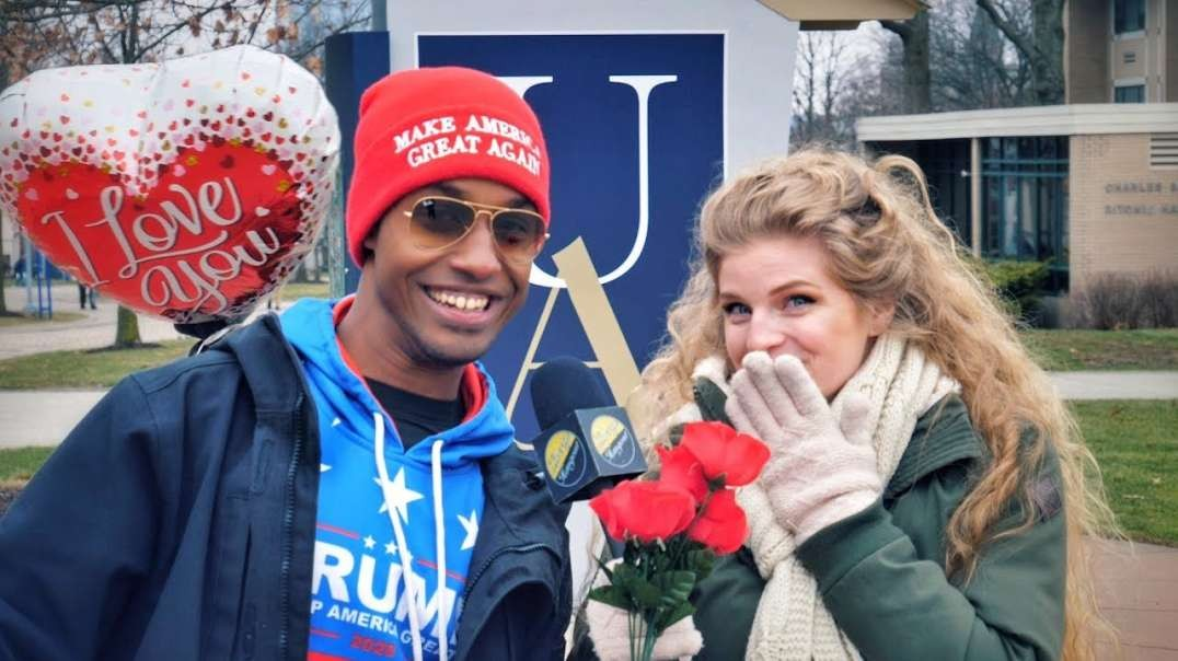 Trump Supporter Looks for Valentine's Date
