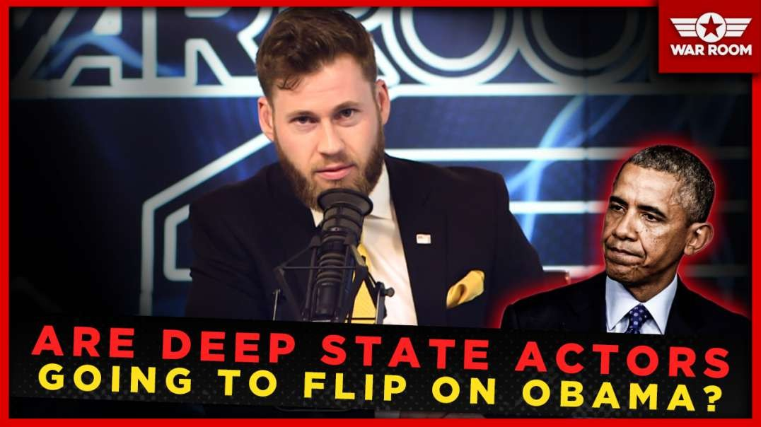 Are Deep State Actors Going To Flip On Obama?