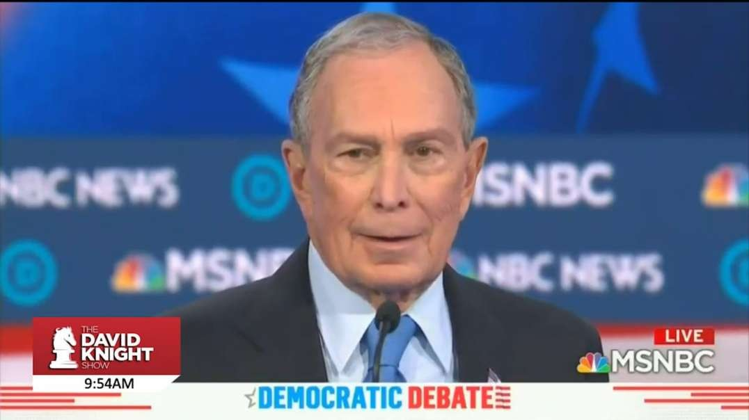 Bloomberg Steps From Behind The Curtain—And Gets Pummeled