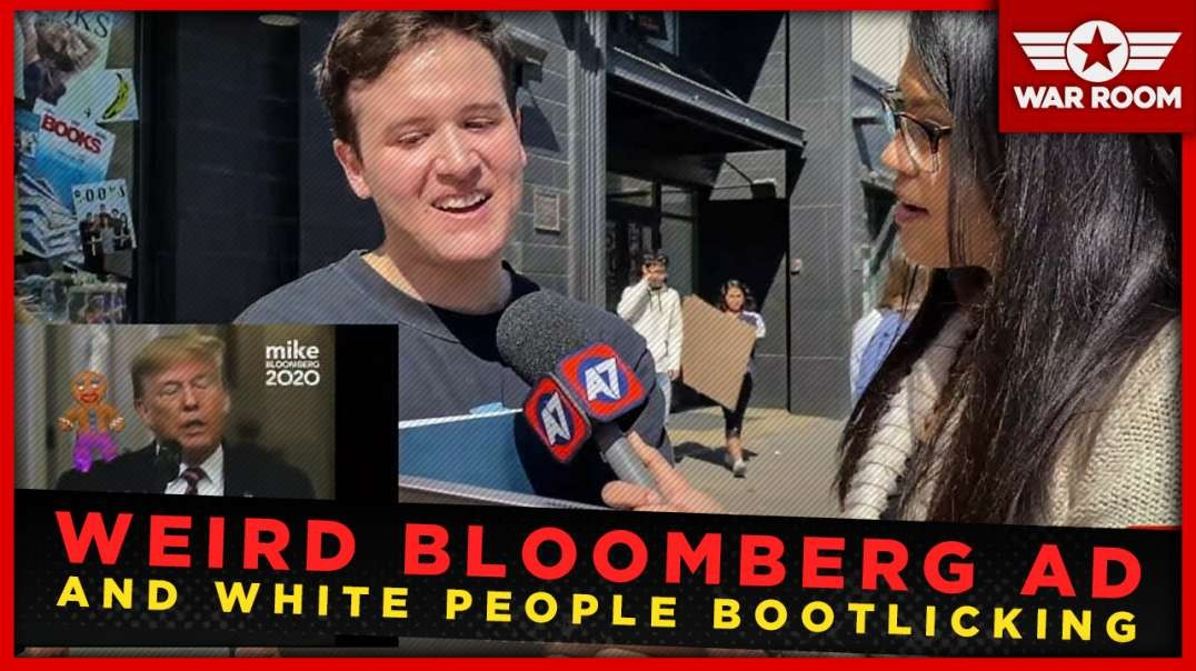 Weird Bloomberg Gingerbread Ad And White People Bootlicking Is Peak 2020