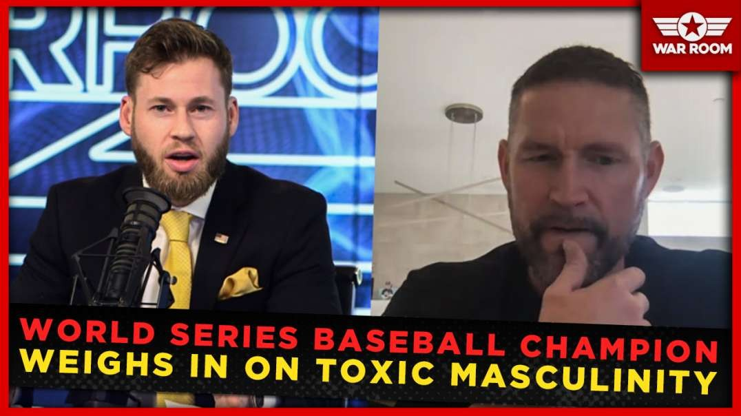 World Series Champion Baseball Player Weighs In On Toxic Masculinity
