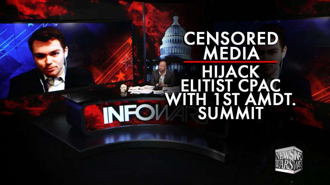 Nick Fuentes Joins Alex Jones To Discuss Conservative Inc's Censorship and Control