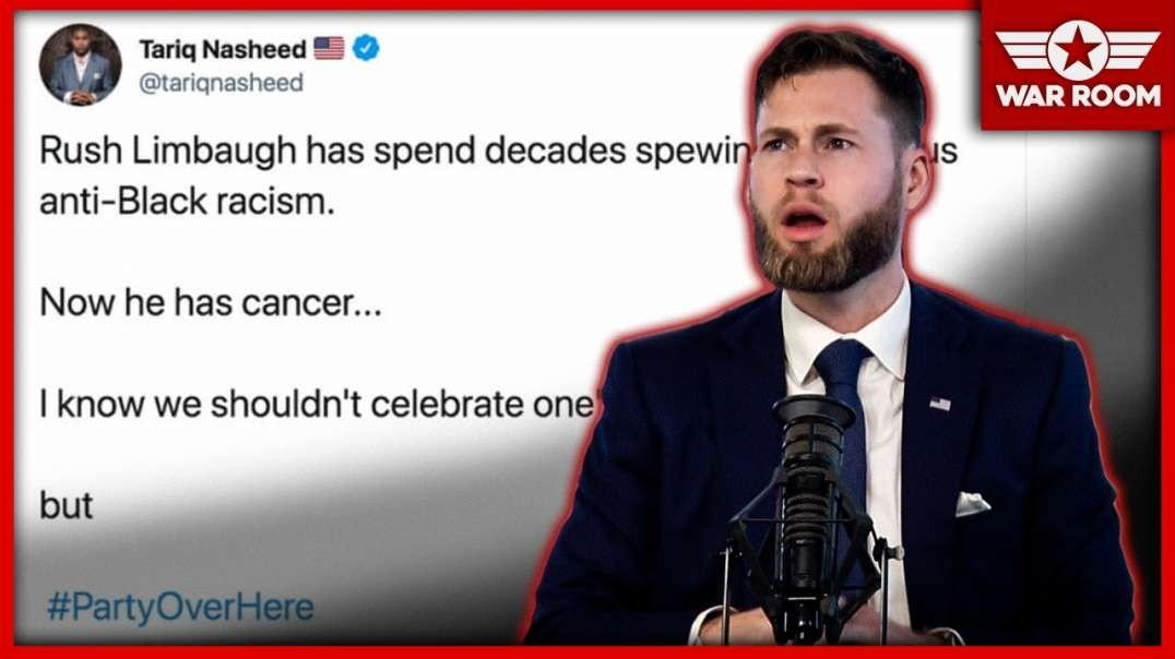 Scum Of The Earth Celebrates Rush Limbaugh's Cancer Diagnosis