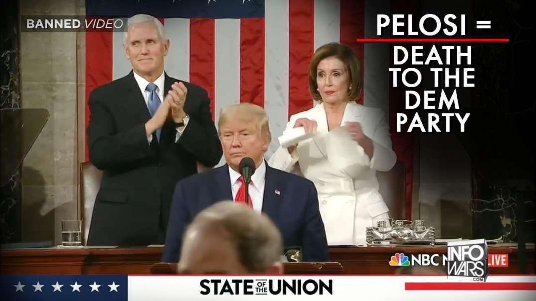 Nancy Pelosi = Death To The Democratic Party