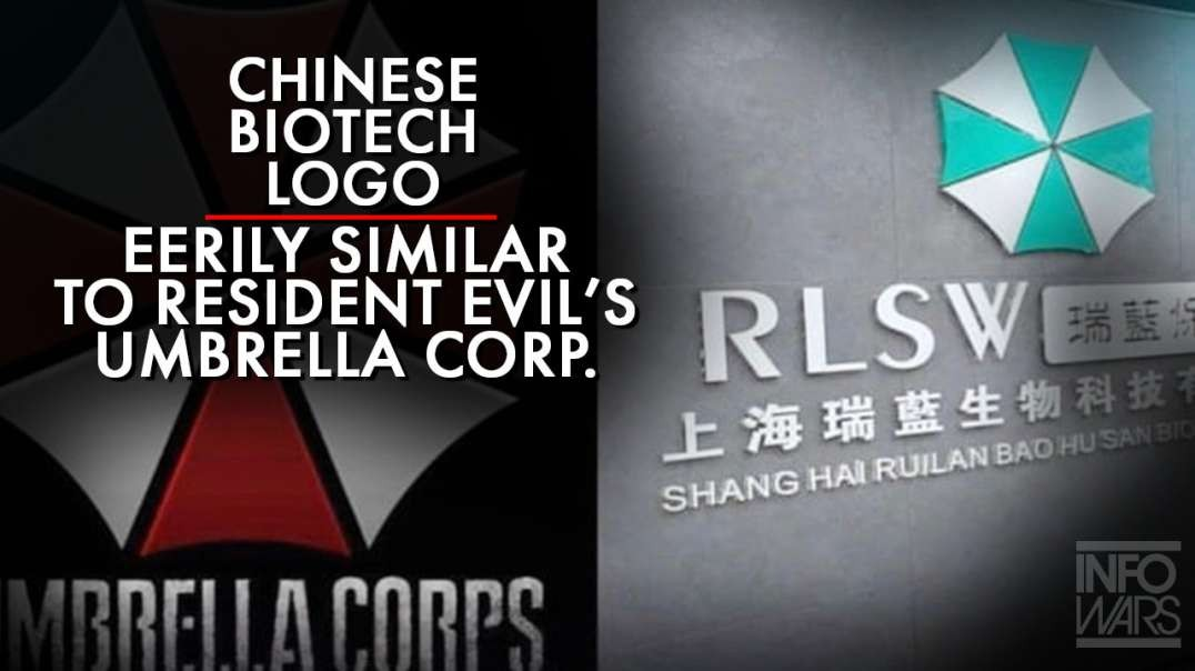 Logo For Biotech Company In China Eerily Similar To Resident Evil's Umbrella Corp.