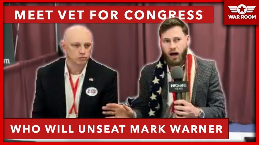 Meet The Veteran For Congress Who Will Unseat Mark Warner